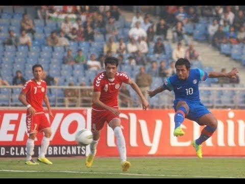 India Vs Afghanistan (Full Match) SAFF Championship 2011