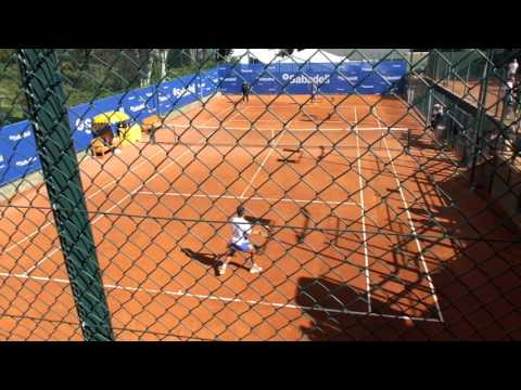Rafael Nadal practicing forehand winners [HD] - Barcelona Open Banc Sabadell 2017