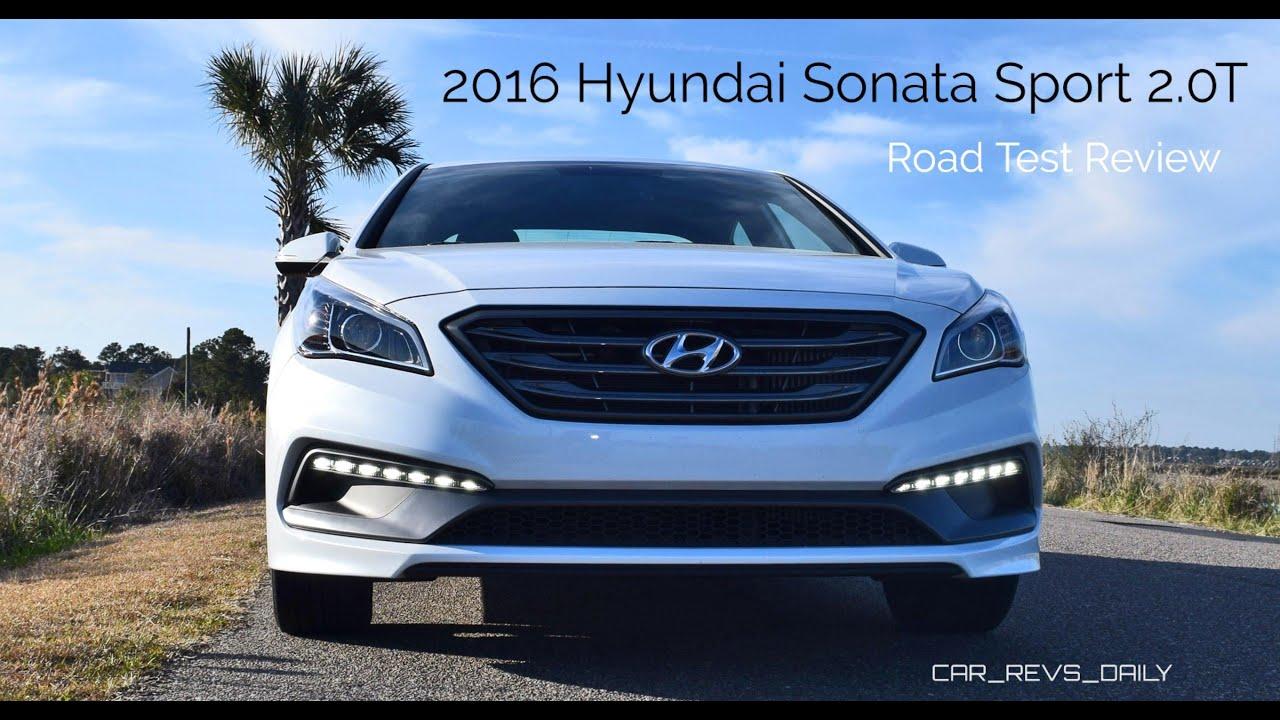2016 hyundai sonata sport 2 0t hd road test review youtube. Black Bedroom Furniture Sets. Home Design Ideas