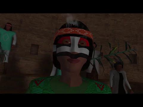 Chaco Canyon Pueblo Bonito Kiva Ceremony