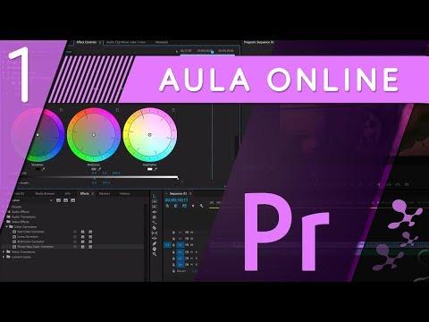Curso de Adobe Premiere CC - Aula 01 Curso Online