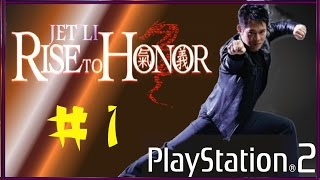 Jet Li: Rise to Honor • PC • (PCSX2 Emulador) - Parte 1