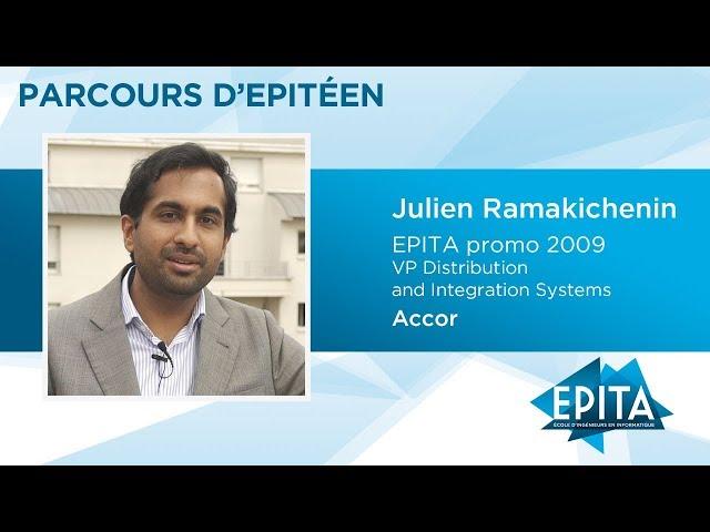 Parcours d'Epitéen - Julien Ramakichenin (promo 2009) - Accor