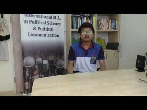 Study MA In Political Science & Political Communications At Tel Aviv University - Sanjay Shukla