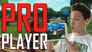Pro Fortnite Mobile Player - Road to 100 Wins - iPad 2017 Gameplay + Tips!
