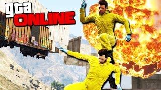 GTA 5 Online (ЭПИК + УГАР) - БЕГИ ИЛИ УМРИ! #110