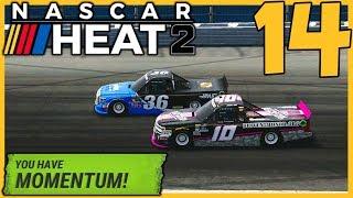 We've Got Momentum! |4/23| NASCAR Heat 2 Career Mode S2 Episode 14