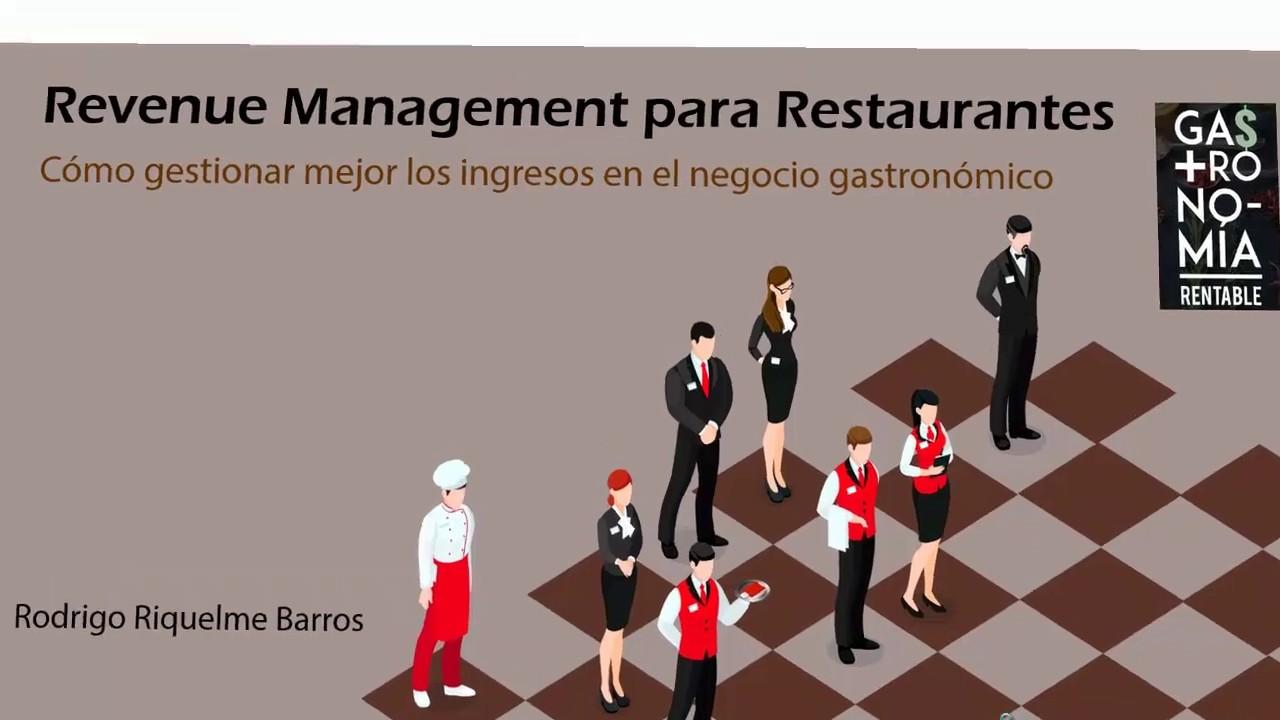 Revenue Management para Restaurantes (curso virtual)