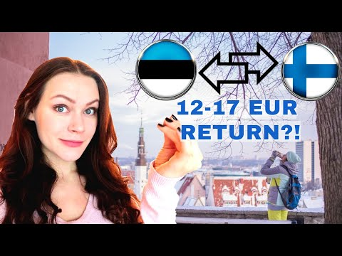 THE CHEAPEST WAY TO TRAVEL BETWEEN TALLINN AND HELSINKI. Cheap ferry. Things to do in Tallinn