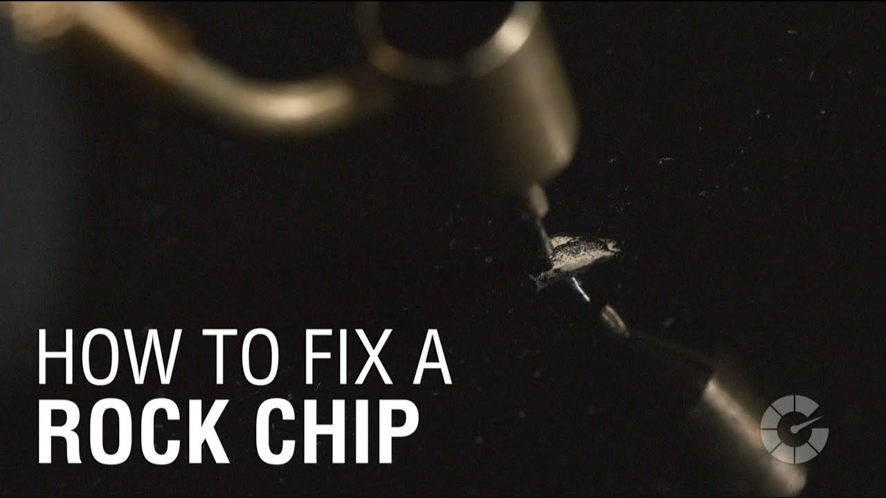 How To Fix A Rock Chip Autoblog Details Youtube