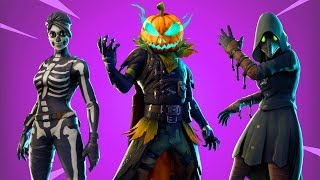 "ALL NEW HALLOWEEN SKINS & EMOTET! -""Fortnite News"" English"
