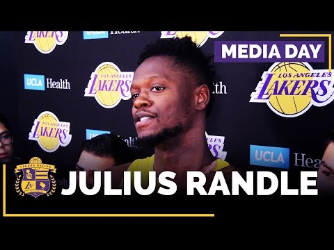 Lakers Media Day: Julius Randle (FULL INTERVIEW)