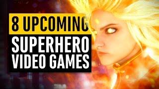 8 Superhero Video Games Coming Soon