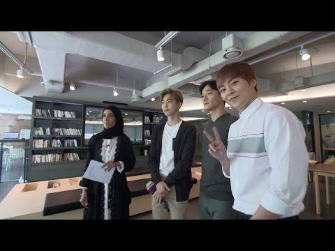 Al-Arabiya EXO interview | الكورية EXO لقاء العربية مع فرقة