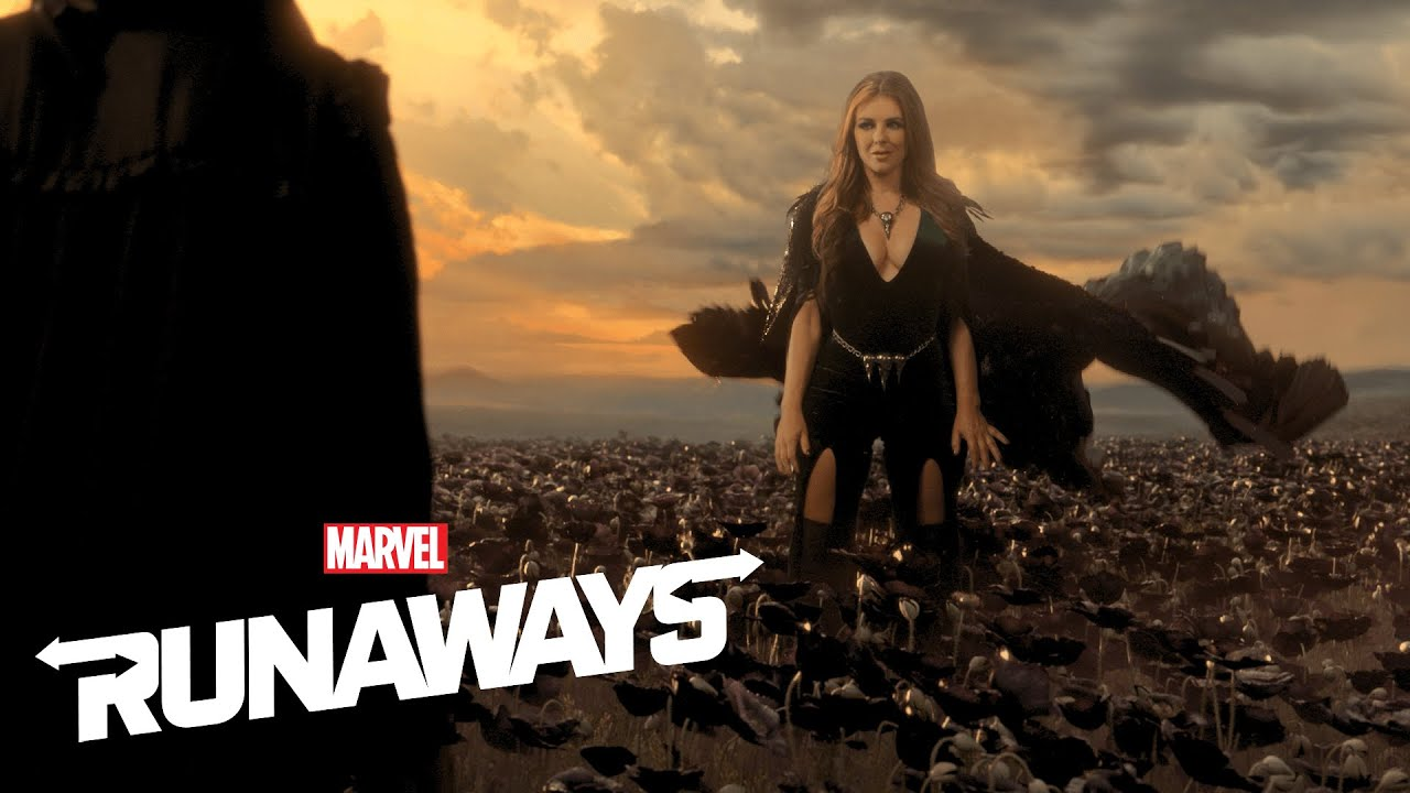 Elizabeth Hurley Manifests Magic in Marvel's Runaways