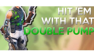 I AM THE DOUBLE PUMP GOD || The best double pump user on console #1PS4-XBOX -Fortnite Battle Royale