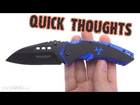Boker Magnum Cobalt Strike assisted opening knife