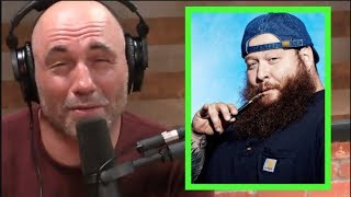 Joe Rogan on Smoking Weed with Action Bronson