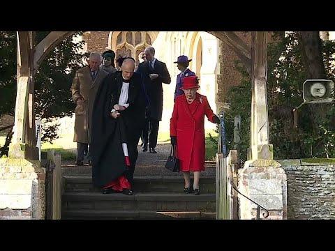 Família Real na Missa de Natal