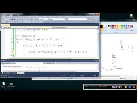 [Lập trình C/C++] Bài 8. Kĩ thuật thêm phần tử trong mảng 1 chiều
