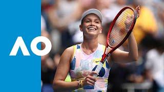 Donna Vekic vs Iga Swiatek - Match Highlights (3R) | Australian Open 2020