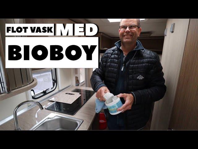 Flot vask med BioBoy