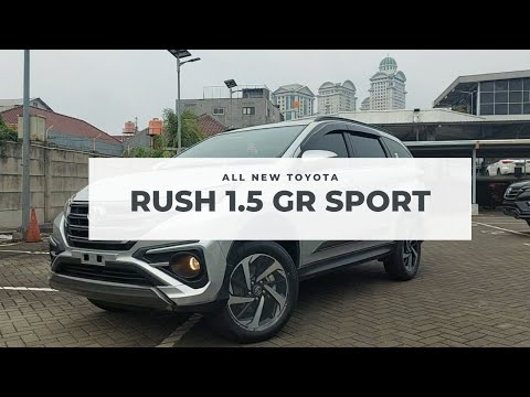 Toyota All New Rush GR Sport 2021 | Silver | Indonesia