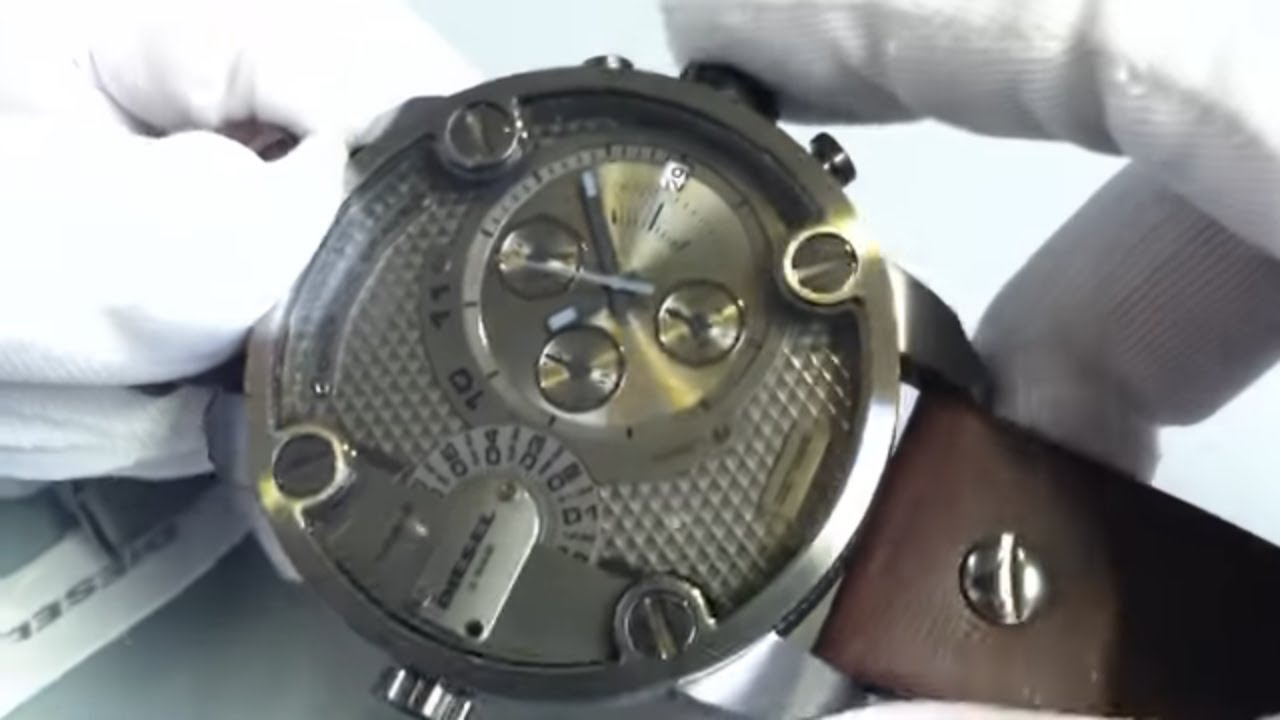 s diesel sba oversized big chronograph dz7258