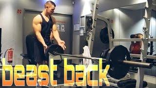 BACK WORKOUT | Natural Bodybuilding 17 yrs. old Simon Richards