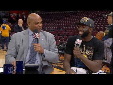 Draymond Green Joins The Crew after winning 2018 NBA Championship | NBA GameTime