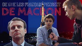 Ce que les français pensent d'Emmanuel Macron (feat Macron)