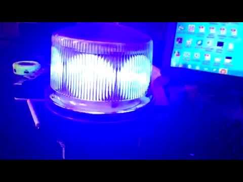 solar traffic alert lamp