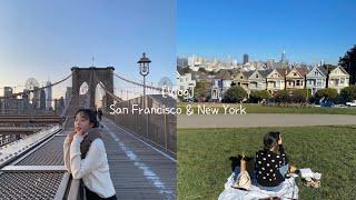 [Vlog] 미국여행브이로그 | 샌프란시스코 | 뉴욕여…