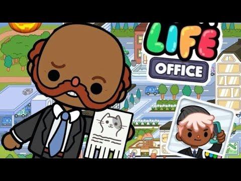 Секреты Тока Бока Офис. Secrets Toca Life Office