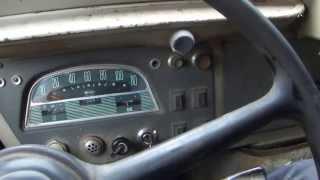Engine runs of HY van diesel