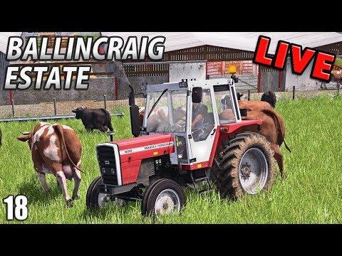 LIVE Ballincraig Estate | Farming Simulator 17 - Episode 18