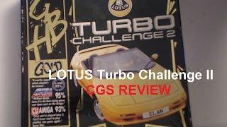 CGS - Lotus Turbo Challenge 2 - Amiga Game Review
