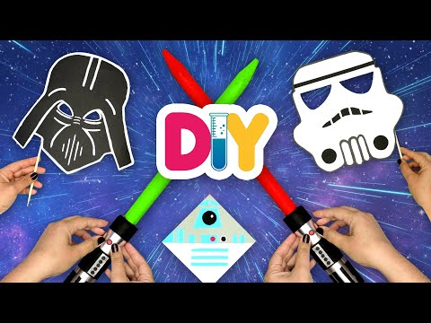 4 STAR WARS Crafts to Channel the Force! | Fast-n-Easy | DIY Labs
