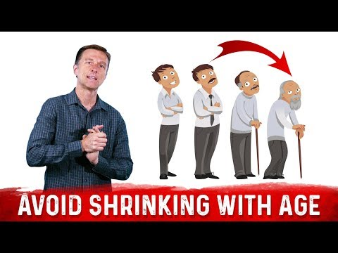 Why People Shrink With Age and How to Prevent It?