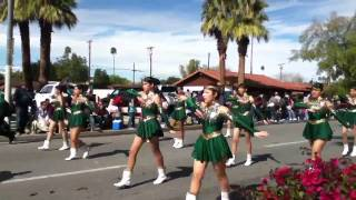 Coachella valley high school Arabs marching band