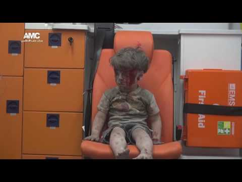 The iconic video of Omran.