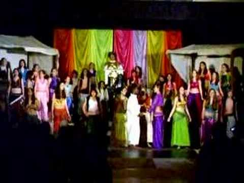 Aladdin Jr. Spring Musical at Jim Barnes Middle School
