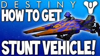 Destiny: How To Get The NEW Stunt Vehicle - EV-30 Tumbler (Gift From Bungie) Tricks & Stunts Sparrow