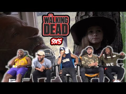 """The Walking Dead Season 9 Episode 5 """"What Comes After"""" Reaction/Review"""