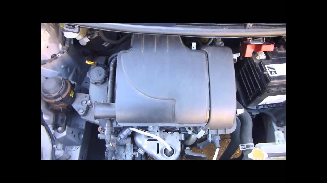 2008 Toyota Yaris 1 0 T2 Engine Youtube