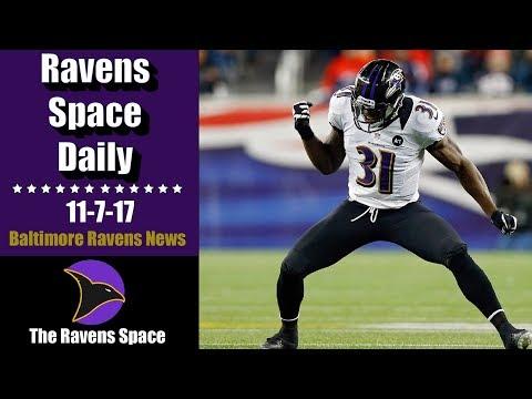 Pollard Calls Out Harbaugh! | 11/7/17 Ravens Space Daily | Baltimore Ravens News