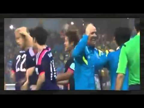 本田圭佑ゴール♪ 2014ワールドカップ 6/15 日本 VS コートジボワール