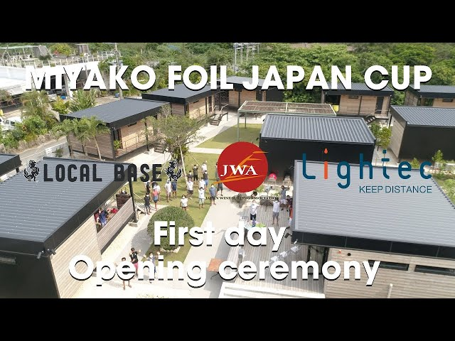 MIYAKO FOIL JAPAN CUP 2021  First day Opening ceremony