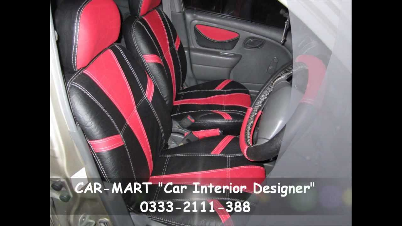 Suzuki alto custom interior in red black by car mart