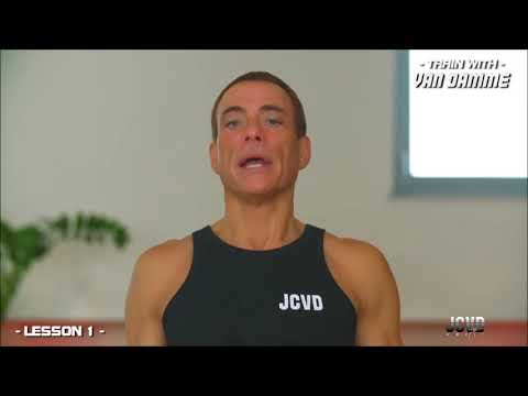 Train with Van Damme - Lesson 1 [3/5]